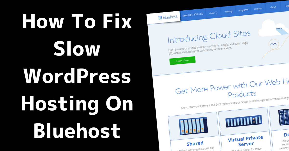 How to Fix Slow WordPress Hosting on Bluehost 7