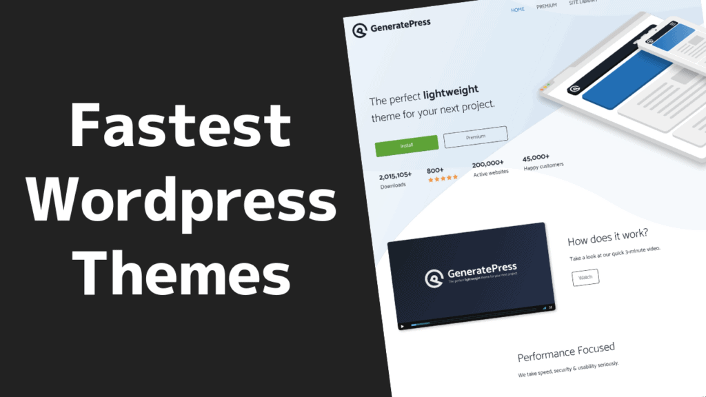 The Fastest WordPress Themes (and Best!) in 2020 9